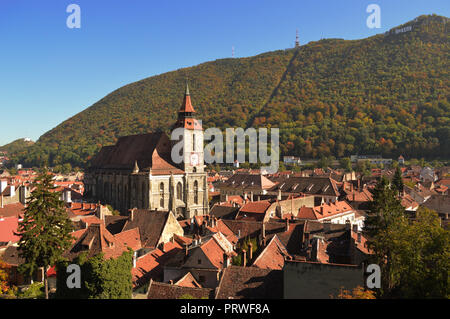 Black Church from Brasov - Romania - Stock Photo