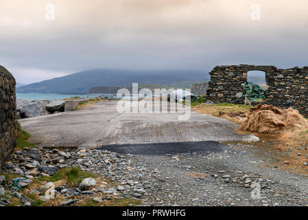 Ireland, Connemara cultural region in County Galway, Ireland. The area has a strong association with traditional Irish culture. - Stock Photo