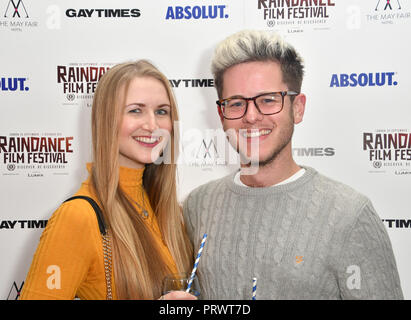 London, UK. 4th October, 2018. Raindance Film Festival Gay Times Gala screening - George Michael: Freedom (The Director's Cut) London, UK. 4th October 2018. Credit: Picture Capital/Alamy Live News - Stock Photo