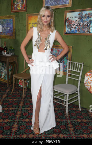 Los Angeles, Ca, USA. 4th Oct, 2018. Helena Mattsson at the Los Angeles Premiere of HBO FilmsÕ My Dinner With Herve at Paramount Studios in Los Angeles, California on October 4, 2018 Credit: Faye Sadou/Media Punch/Alamy Live News - Stock Photo