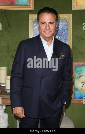 Los Angeles, Ca, USA. 4th Oct, 2018. Andy Garcia at the Los Angeles Premiere of HBO FilmsÕ My Dinner With Herve at Paramount Studios in Los Angeles, California on October 4, 2018 Credit: Faye Sadou/Media Punch/Alamy Live News - Stock Photo