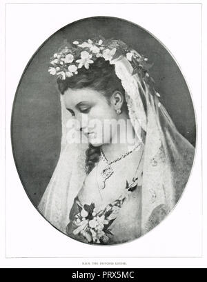 Princess Louise, Duchess of Argyll, sixth child and fourth daughter of Queen Victoria and Prince Albert - Stock Photo