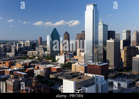 New York, USA: May 27, 2018: View from Reunion Tower Dallas, Texas, USA.