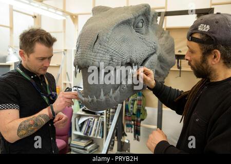 Prod DB © John Wilson - Universal Pictures - Amblin Entertainment - Legendary Entertainment - Apaches Entertainment  / DR JURASSIC WORLD: FALLEN KINGD - Stock Photo