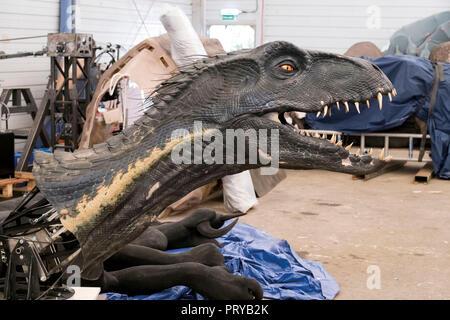 Prod DB © Giles Keyte - Universal Pictures - Amblin Entertainment - Legendary Entertainment - Apaches Entertainment / DR JURASSIC WORLD: FALLEN KINGDO - Stock Photo
