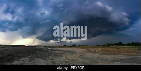 Tornado in Schwechat