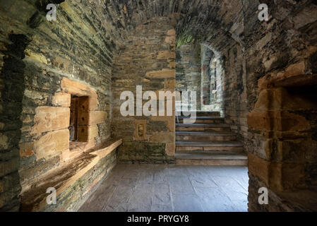 Earl's Palace Castle Ruin, Kirkwall, Mainland, Orkney Islands, Scotland, United Kingdom - Stock Photo