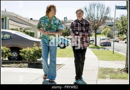 Prod DB © Anonymous Content - Big Indie Pictures - Iconoclast / DR DON'T WORRY, HE WON'T GET FAR ON FOOT de Gus Van Sant 2018 USA avec Joaquin Phoenix - Stock Photo