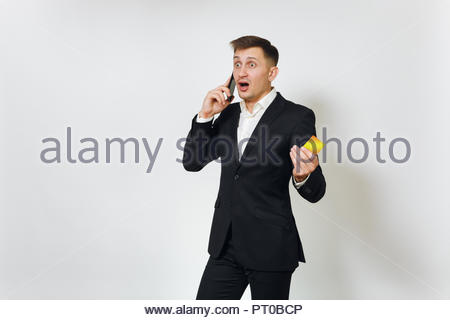 Surprised Businessman Standing On The Money Stairs And Watching Many Stock Photo 39853223 Alamy