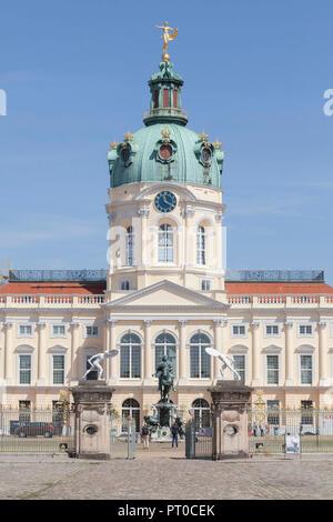 Charlottenburg Palace, Berlin, Germany, Europe - Stock Photo
