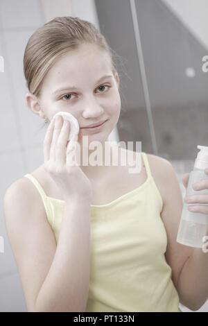 teenage girl (model released) - Stock Photo
