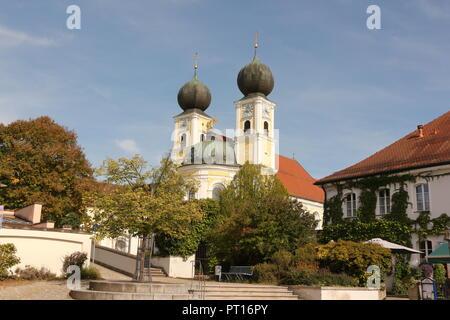 Die Benediktinerabtei Kloster Metten in Bayern - Stock Photo
