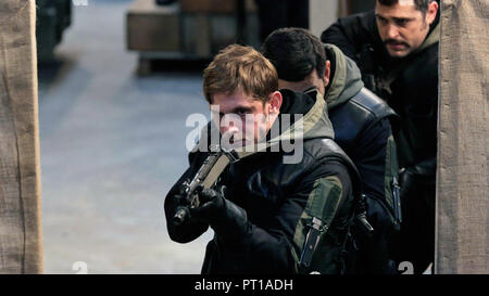 Prod DB © General Film Corporation / DR 6 DAYS SIX DAYS de Toa Fraser 2017 GB/NZ Jamie Bell. terrorisme; terrorism; histoire vraie; true story; 1980's - Stock Photo