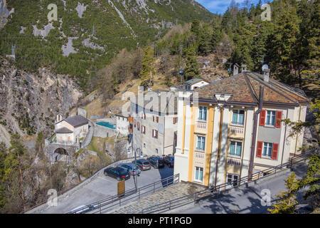 The Spa Complex Called Bagni Vecchi Of Bormio Upper Valtellina