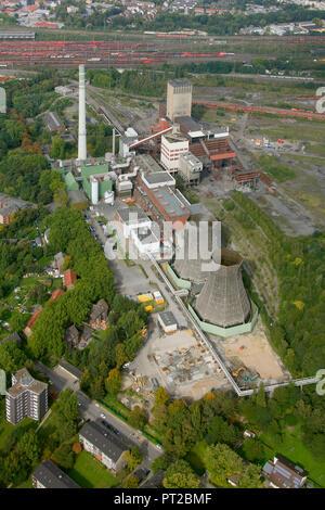 Aerial view, coal power plant Herne Schamrock, EON, Herne, Ruhr area, North Rhine-Westphalia, Germany, Europe