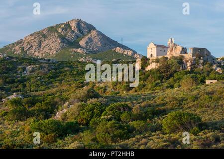Notre Dame de la Serra, Calvi, Corsica, France - Stock Photo