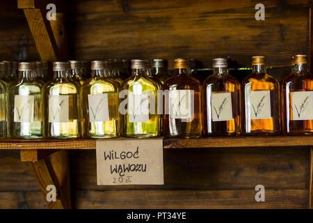 Europe, Poland, Lublin Voivodeship, Zagroda Guciow , specialities - Stock Photo