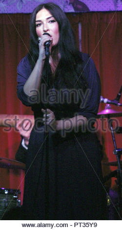 Kristina Train performs to a sold out crowd  at the Manchester Deaf Institute on Sunday 03 March 2013 - Stock Photo