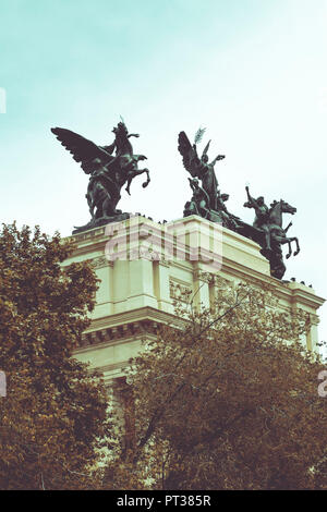 Ministry of Agriculture in Madrid, Spain, Europe - Stock Photo