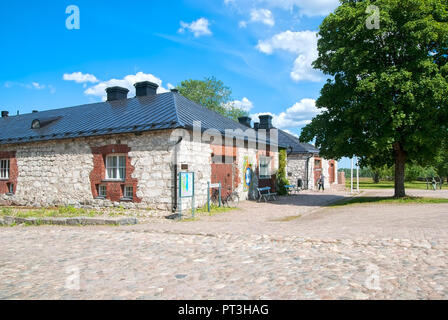 LAPPEENRANTA, FINLAND - JUNE 15, 2016: South Karelia Museum in last fortress. Located in former storehouses for provisions and guns - Stock Photo