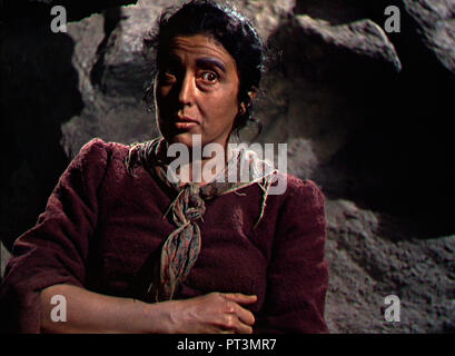 Prod DB © Paramount Pictures / DR POUR QUI SONNE LE GLAS FOR WHOM THE BELL TOLLS de Sam Wood 1942 USA Katina Paxinou. guerre d'Espagne; spanish civil - Stock Photo