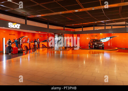 logo of the car rental agency sixt rent a car stock photo. Black Bedroom Furniture Sets. Home Design Ideas