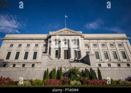 Canada, Quebec, Quebec City, Musee national des Beaux-Arts du Quebec, MNBAQ, main building, exterior - Stock Photo