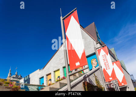Canada, Quebec, Quebec City, Musee de la Civilisation, Museum of Civilizarion, exterior - Stock Photo