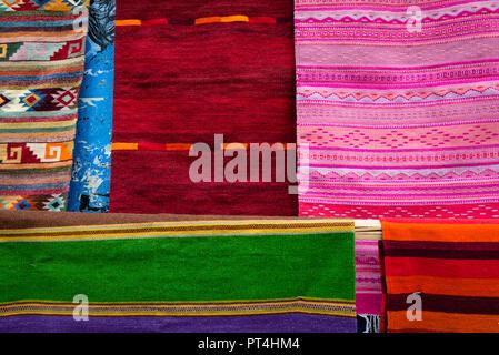 Traditional Hand Woven Rugs Oaxaca City Oaxaca Mexico