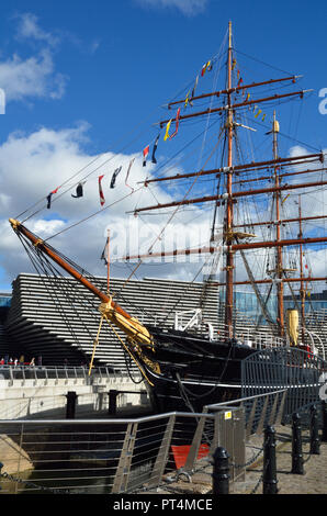 RRS Discovery, Dundee, Angus, Scotland, Great Britain, UK, United Kingdom, Europe. - Stock Photo
