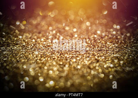Blur of Christmas wallpaper decorations concept - Stock Photo