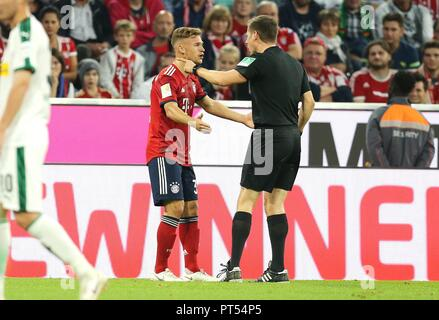 firo: 06.10.2018 Fuvuball, Football: 1.Bundesliga FC Bayern Munich - Borussia Mv? nchengladbach, Joshua Kimmich, FC Bayern, Munich, Muenchen | usage worldwide - Stock Photo