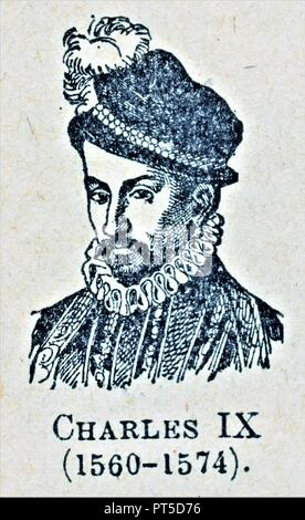 CHARLES IX - Stock Photo