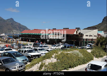 Famous Mariners Wharf in Hout Bay, september 2008, Cape Town, South Africa