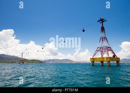 Nha Trang Vietnam Skyline - Stock Photo