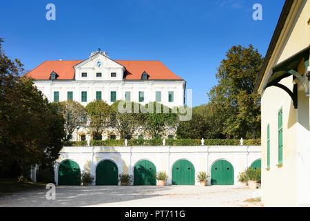 Seefeld-Kadolz: castle Schloss Seefeld in Weinviertel, Niederösterreich, Lower Austria, Austria - Stock Photo