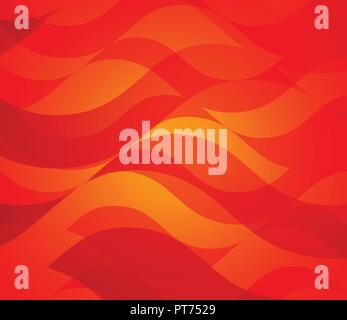 Red Colorful Vector Background - Stock Photo