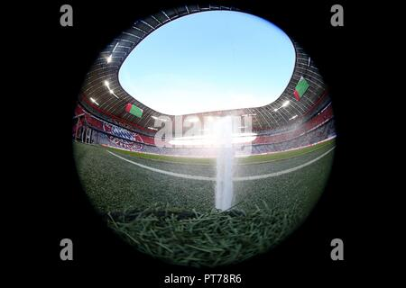 firo: 06.10.2018 Fuvuball, Football: 1.Bundesliga Bayern Munich - Borussia Mv? nchengladbach 0: 3, General, Feature, Depository, Allianz Arena | usage worldwide - Stock Photo