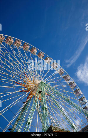 Ferris wheel in Nice, France - Stock Photo