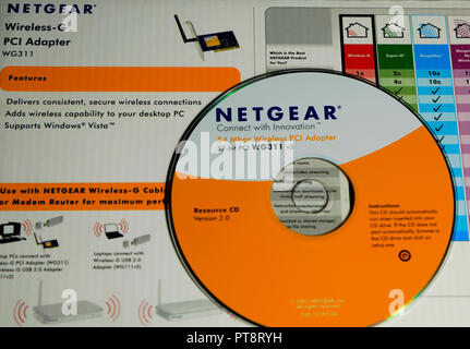 Netgear Wi-Fi Router - Stock Photo