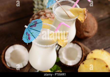 Pinacolada drink - Stock Photo