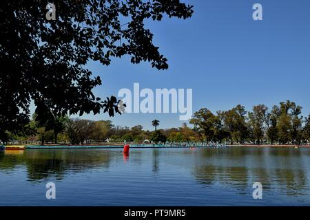Buenos Aires, Argentina. 7th Oct, 2018. Athletes compete during the Women's Triathlon match at the 2018 Summer Youth Olympic Games in Buenos Aires, capital of Argentina, Oct. 7, 2018. Credit: He Changshan/Xinhua/Alamy Live News - Stock Photo