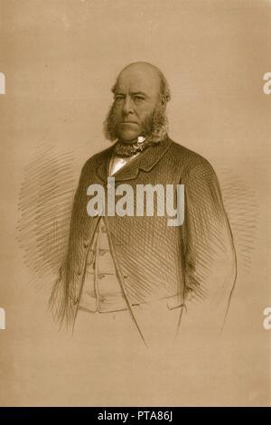 'Sir Watkin Williams-Wynn. M.P.', 1879. Creator: Vincent Brooks Day & Son. - Stock Photo