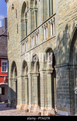 Arches of the St. Patrokli Dom in Soest, Germany - Stock Photo