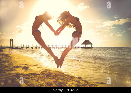 love heart romantic themed illustration - Stock Photo