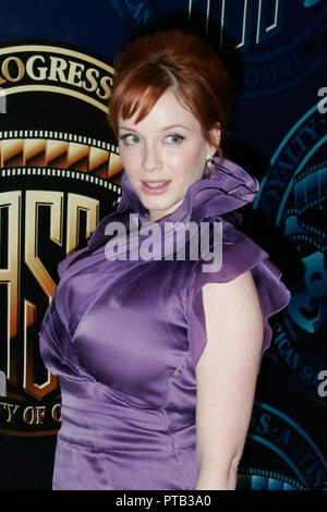 Christina Hendricks  02/25/09 'American Society of Cinematographers 23rd Annual Outstanding Achievement Awards' Press Room  @ Hyatt Regency Century Plaza Hotel, Century City Photo by Ryan Tartisel/HNW / PictureLux  File Reference # 33680_141HNW - Stock Photo