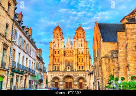 Saint Michel church in Dijon, France - Stock Photo