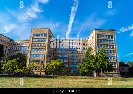IG-Farben-Haus, by Hans Poelzig, 1928-30, New Objectivity architectural style, now Goethe University campus, Frankfurt, Hessen, Germany - Stock Photo