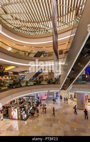 ION Orchard shopping mall, Singapore - Stock Photo