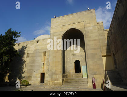 The Museum Entrance at the Shirvanshahs Palace Complex in Baku - Stock Photo